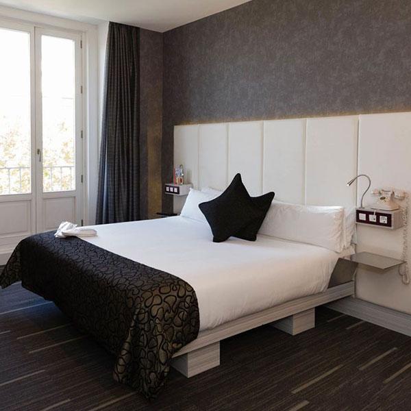 hotel petit palace santa barbara madrid spain