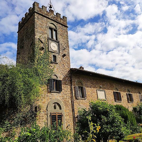 castello di querceto chianti tuscany