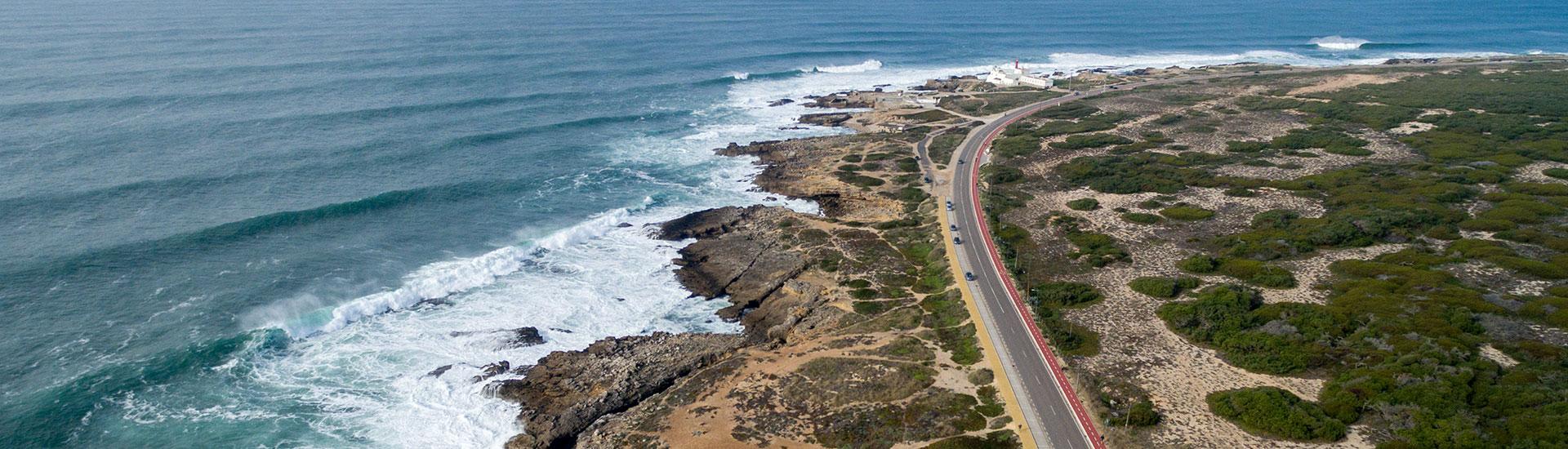 Car rentals Portugal hero
